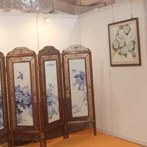 Perfect Combination of Chinese Style and Exhibition Booth