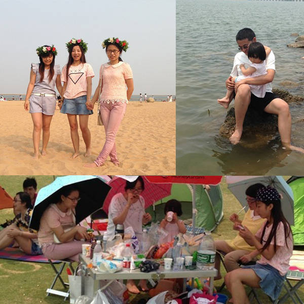 Our Outing to Jinshan City Beach