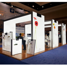 20'x30' China Backlit Trade Show Booth Exhibition Light Box Design