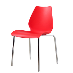 Red Portable Plastic Chair