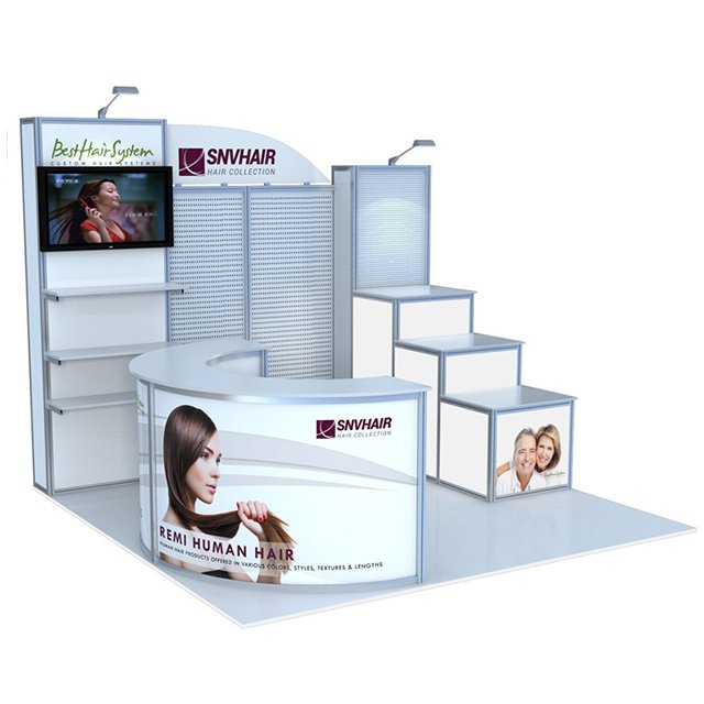 Exhibition Display Stands : Portable aluminum 10x10ft exhibition display stand from china