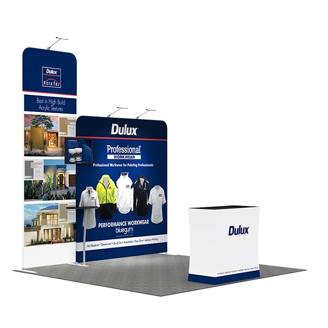 Portable Exhibition Stands In : Trade show portable exhibition booth display backdrop stands from