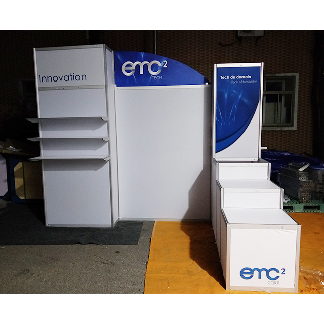 10x10 Portable Aluminum Trade Show Display Booth for Importers in China