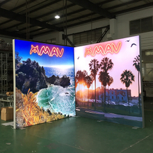 10'x10' Eco-friendly Modular Trade Show Backlit Exhibition Light Box