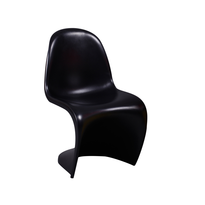 Black Trade Show Panton Chair