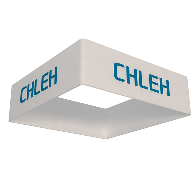 Tradeshow Graphic Hanging Signs Square Ceiling Banners
