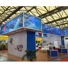 China Aluminum Exhibition Booth Design and Construction