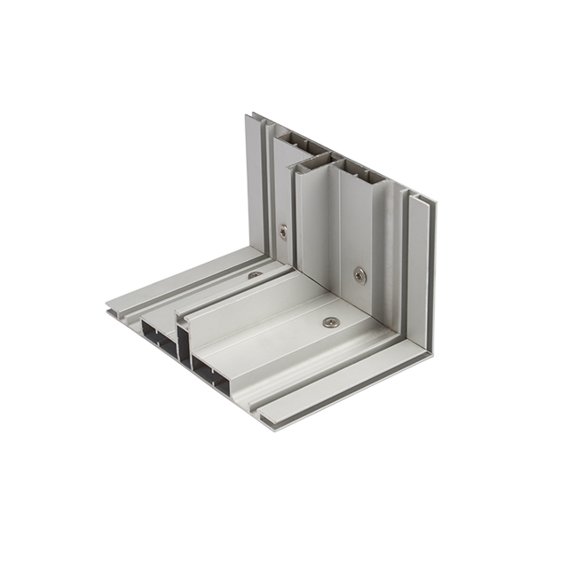 180mm Aluminum Double Sided Fabric Extrusions for LED Lightbox