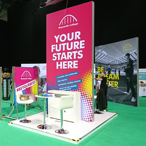 China Trade Show Tension Fabric System Stands without LED