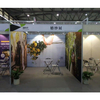 Aluminum Trade Show Fabric Modular Standard Exhibition Booth