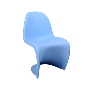 Blue PVC Conference use Panton Chair