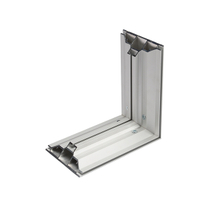 120mm Double Sided Aluminum Fabric Frame for Light Box Display Stand