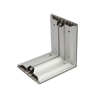 180mm Double Sides Aluminum Free Standing SEG Extrusion Profile for Exhibition Lightbox Stand
