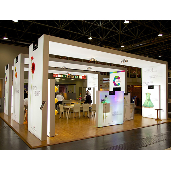 Exhibition Booth Manufacturer China : China backlit trade show booth exhibition light box design from