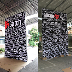 10'x17' China Modular Frameless Backlit Exhibition Booth Design