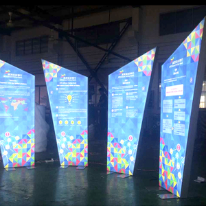Custom Led Fabric LightBox for Real Estate Industry