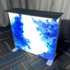 "39""x39"" Portable Plastic Tradeshow Display Backlight Reception Desk"