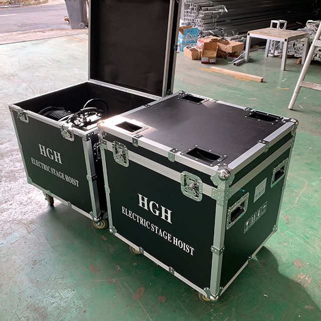 Durable Electric Concert Stage Truss Motor Chain Lifting Hoist 2T